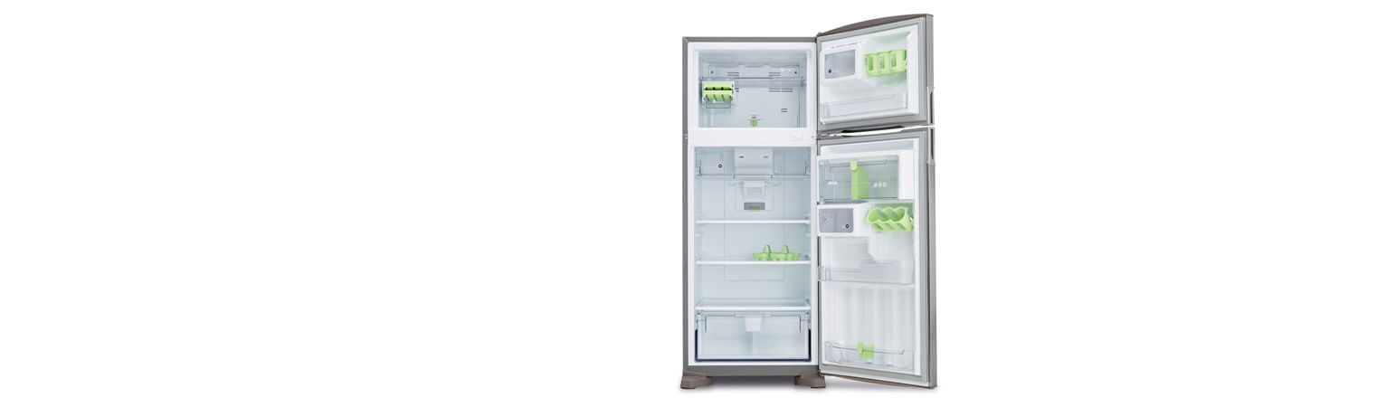 Uma geladeira completa