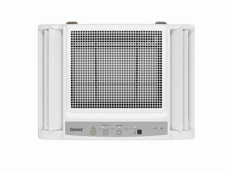 Ar Condicionado 10000 Btus: Eletrônico Consul Frio - Ar Condicionado 10000 Btus CCN10DB - Vista Frontal