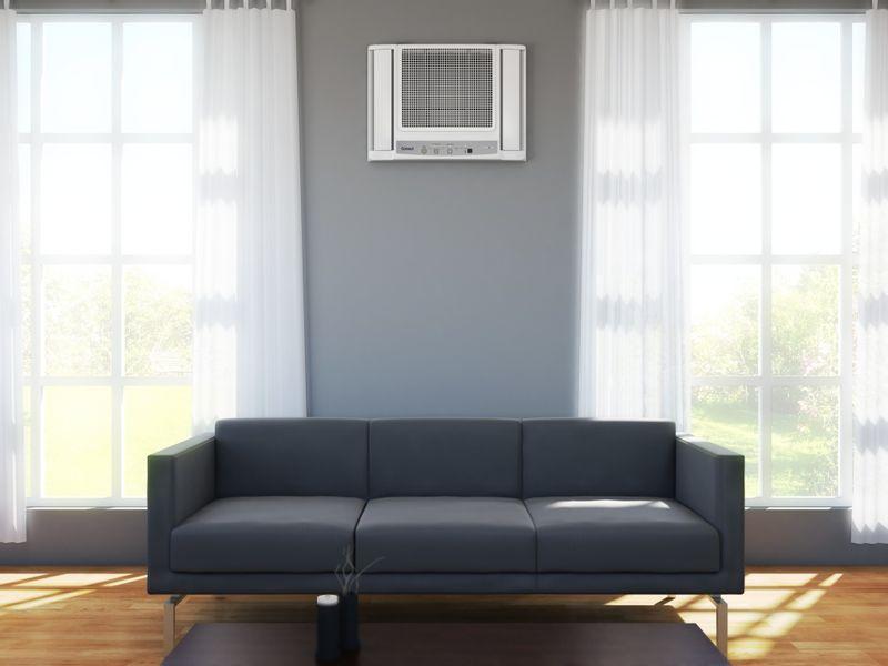 Ar Condicionado 10000 Btus Eletrônico Consul Frio - Ar Condicionado 100 Btus CCN10DB - Aparelho Instalado