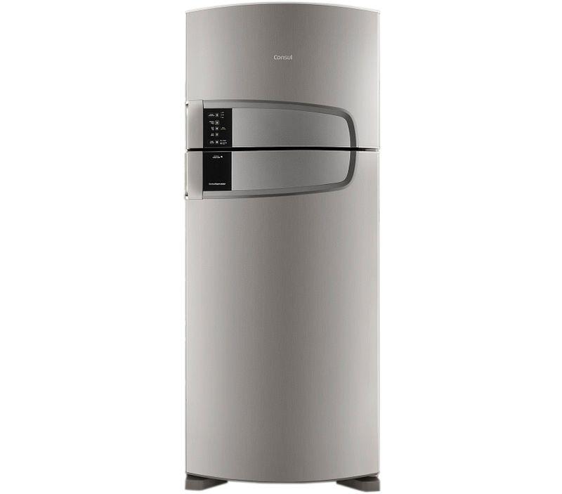 Geladeira Duplex Bem Estar Frost Free 405 Litros Evox Consul - Geladeira Duplex CRM52AK - Vista Frontal