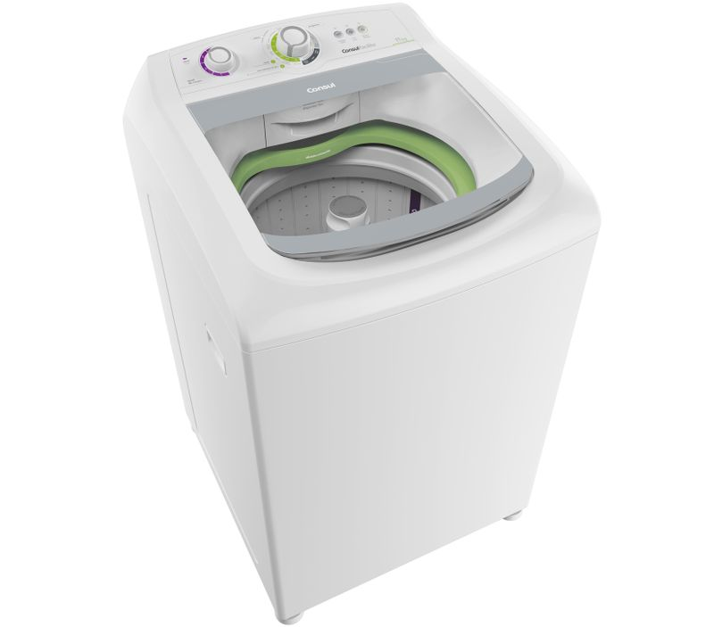 Máquina de lavar: Lavadora de roupas 11Kg Consul Facilite CWE11AB - Imagem em perspectiva