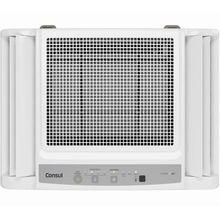 Ar condicionado janela 7500 BTUs/h Consul quente e frio eletrônico com painel dispensa moldura - CCO07DB