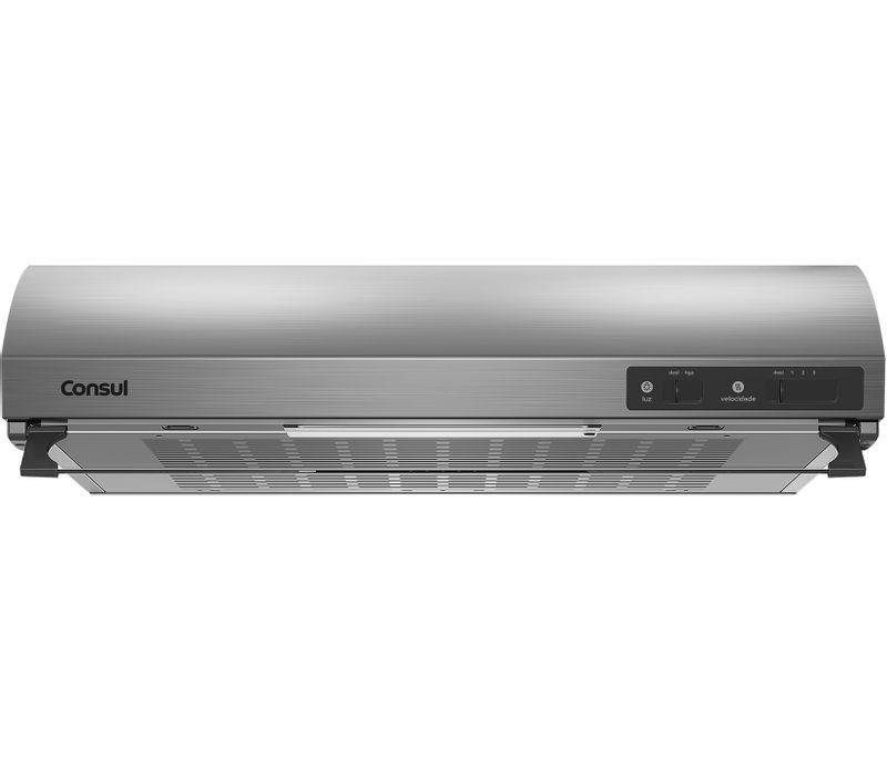 Depurador de Ar 60cm Consul - Depurador Consul CAT60GR - Frontal