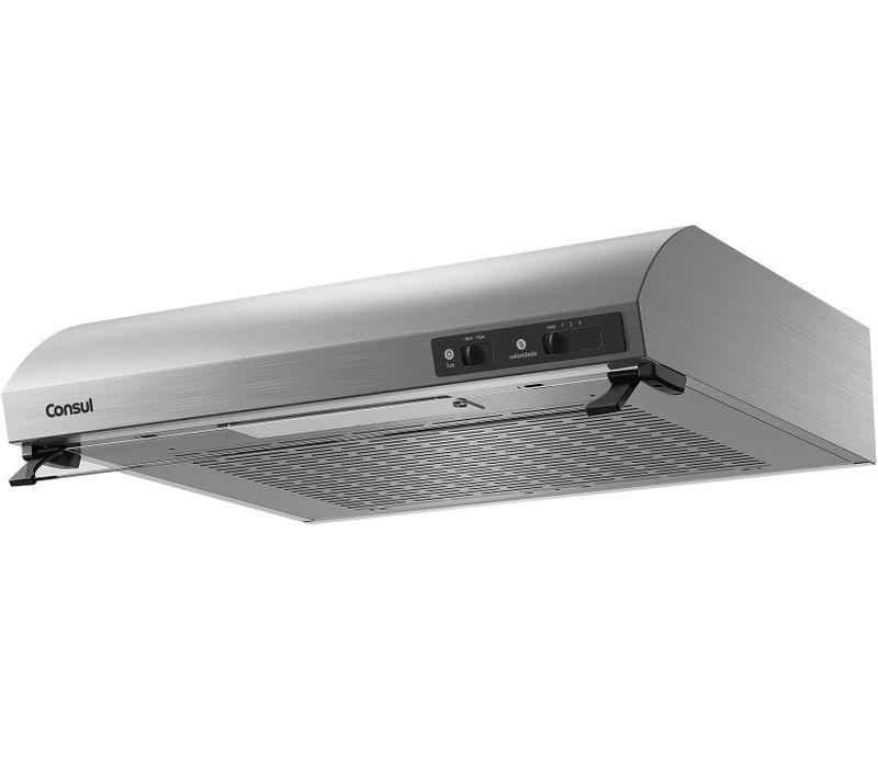 Depurador de Ar 60cm Consul - Depurador Consul CAT60GR - Perspectiva