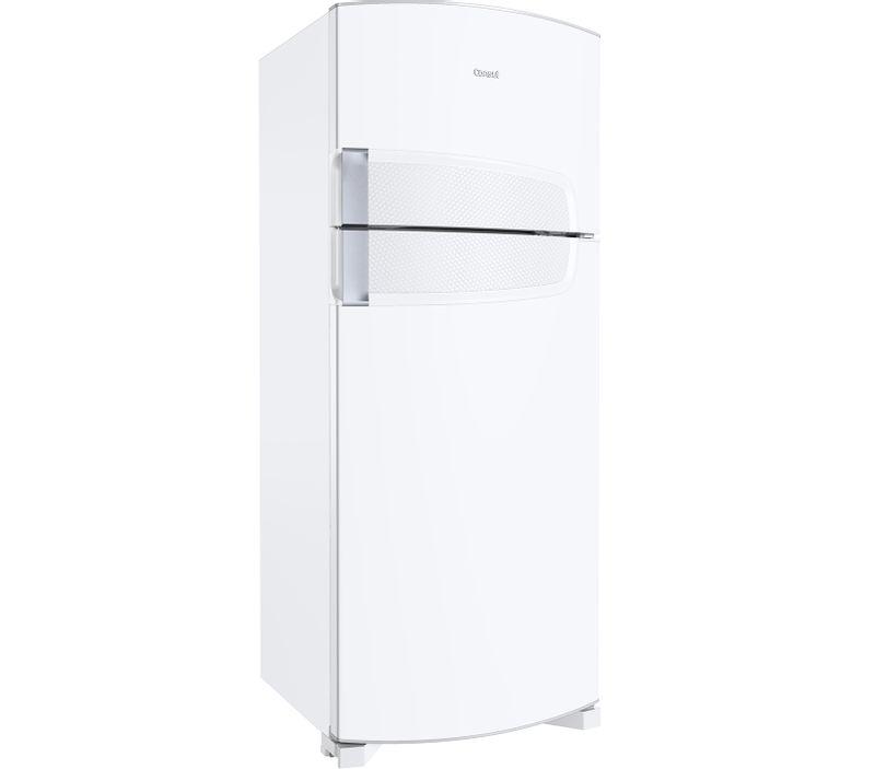 Geladeira 450 Litros - Geladeira Duplex 450 litros branca CRD49AB - Vista em Perspectiva