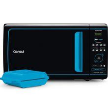 Microondas Consul Mais 20 Litros com Função Tostex Azul - CME20AZ