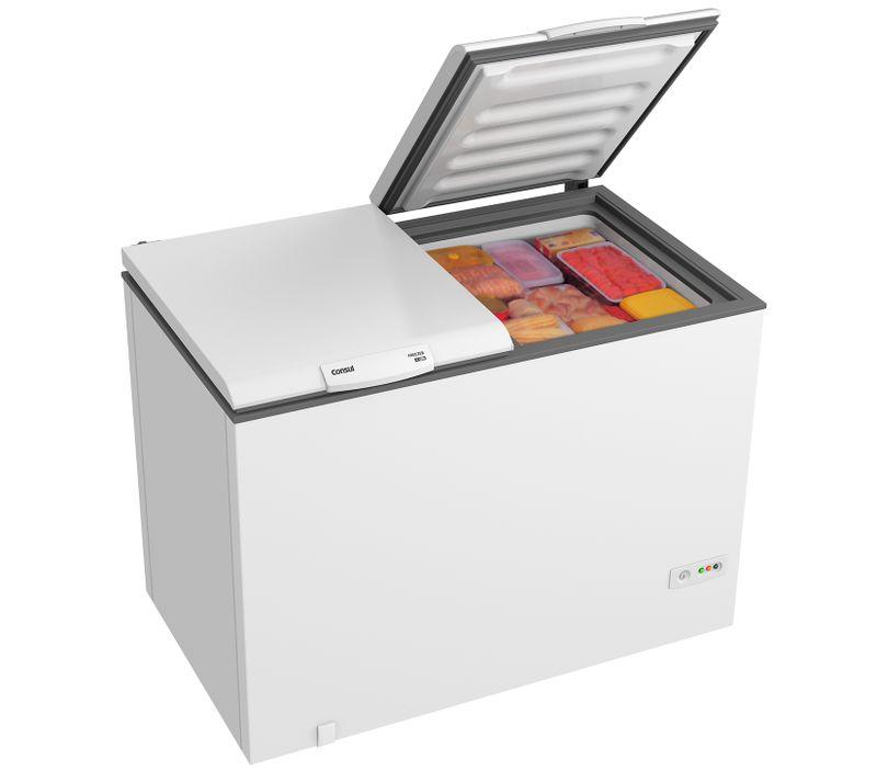 Freezer Horizontal Consul 519 Litros - Freezer Consul CHB53CB - Perspectiva