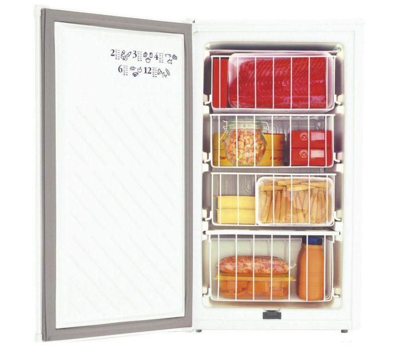 Freezer Vertical 66 Litros Compacto - Freezer Consul CVT10BB - Frontal Aberta