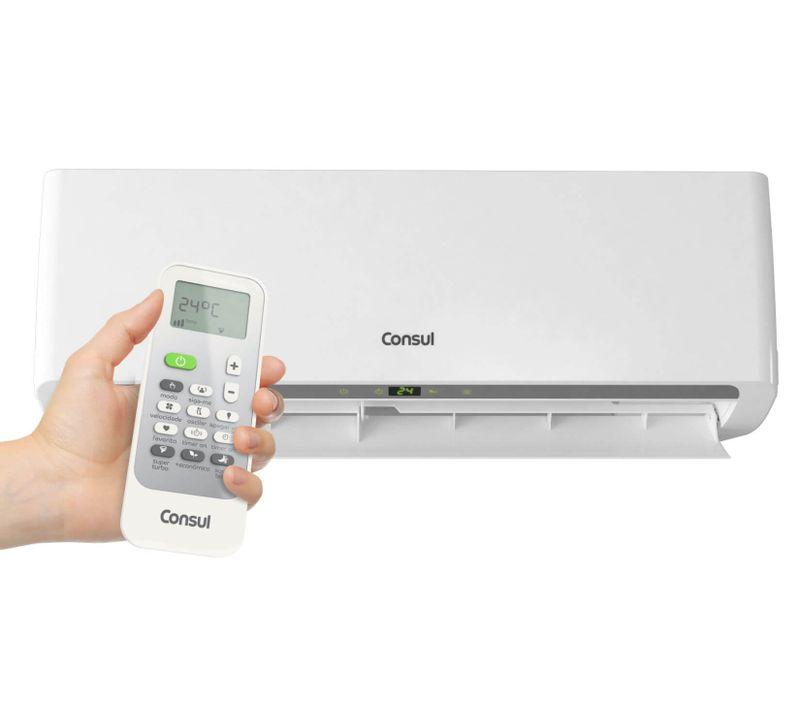 Ar condicionado split 22.000 btus frio Consul - CBA22CB - Aparelho mais controle