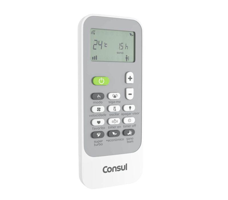 Ar condicionado split 22.000 btus frio Consul - CBA22CB - Controle remoto