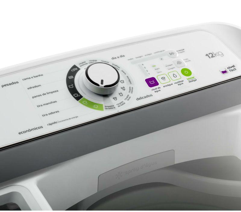 Máquina de lavar: Lavadora de roupas 12Kg Consul CWS12AB - Painel