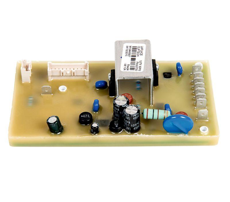 Placa potting de potência laplace - peças para máquina de lavar - W10446927