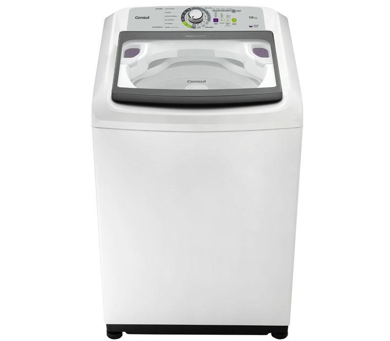 Máquina de lavar 13kg: lavadora Maxi Economia Consul CWE13AB - Imagem frontal