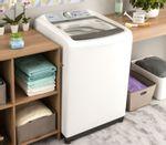 Painel da máquina de lavar 13kg: lavadora Maxi Economia Consul CWE13AB - Instalada