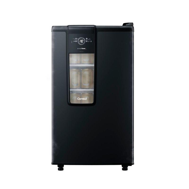 Geladeira/refrigerador 82 Litros 1 Portas Preto Smartbeer - Consul - 110v - Cze12aeana